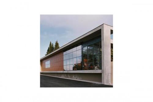 Lucrari de referinta Placaje HPL pentru fatade ventilate - Proiectul Espace Georges Brassens, Sete, Franta TRESPA - Poza 3