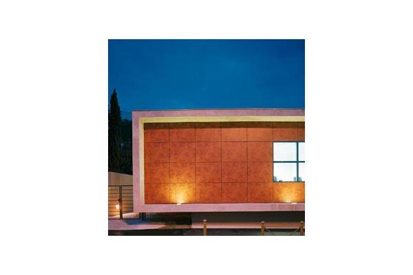 Placaje HPL pentru fatade ventilate - Proiectul Espace Georges Brassens, Sete, Franta TRESPA - Poza 4