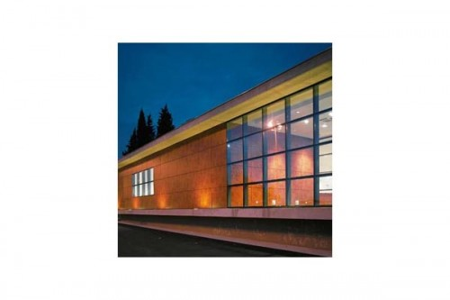 Lucrari de referinta Placaje HPL pentru fatade ventilate - Proiectul Espace Georges Brassens, Sete, Franta TRESPA - Poza 5