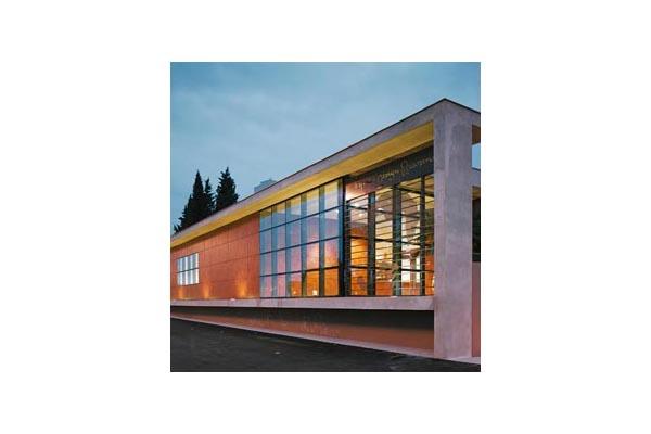Placaje HPL pentru fatade ventilate - Proiectul Espace Georges Brassens, Sete, Franta TRESPA - Poza 6