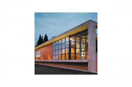 Lucrari de referinta Placaje HPL pentru fatade ventilate - Proiectul Espace Georges Brassens, Sete, Franta TRESPA - Poza 6