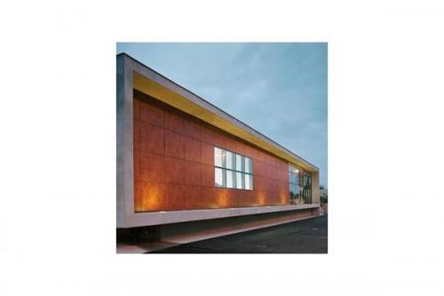 Lucrari de referinta Placaje HPL pentru fatade ventilate - Proiectul Espace Georges Brassens, Sete, Franta TRESPA - Poza 10