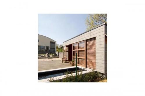 Lucrari de referinta Placaje HPL pentru fatade ventilate - Proiectul Housing, Sint Joris Winge, Belgia TRESPA - Poza 2