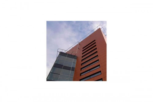 Lucrari de referinta Placaje HPL pentru fatade ventilate - Proiectul Katholieke Scholengemeenschap, Hoofddorp TRESPA - Poza 1