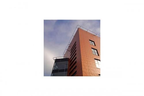 Lucrari de referinta Placaje HPL pentru fatade ventilate - Proiectul Katholieke Scholengemeenschap, Hoofddorp TRESPA - Poza 4