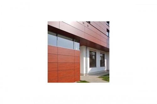 Lucrari de referinta Placaje HPL pentru fatade ventilate - Proiectul Kindergarden, Gabersdorf, Austria TRESPA - Poza 1