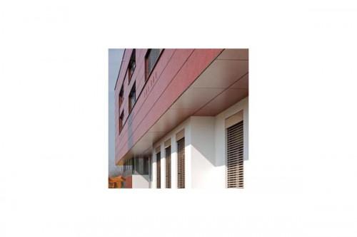 Lucrari de referinta Placaje HPL pentru fatade ventilate - Proiectul Kindergarden, Gabersdorf, Austria TRESPA - Poza 2