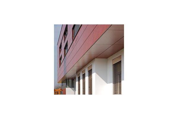 Lucrari, proiecte Placaje HPL pentru fatade ventilate - Proiectul Kindergarden, Gabersdorf, Austria TRESPA - Poza 2