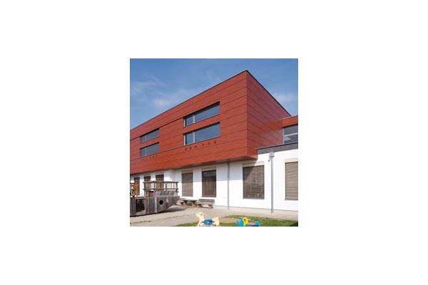 Placaje HPL pentru fatade ventilate - Proiectul Kindergarden, Gabersdorf, Austria TRESPA - Poza