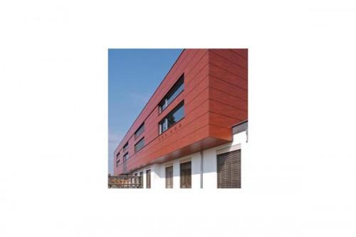 Lucrari de referinta Placaje HPL pentru fatade ventilate - Proiectul Kindergarden, Gabersdorf, Austria TRESPA - Poza 4