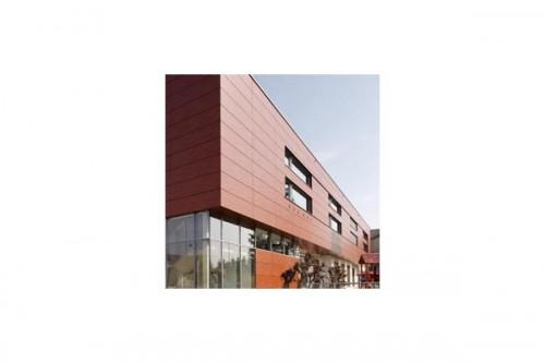 Lucrari, proiecte Placaje HPL pentru fatade ventilate - Proiectul Kindergarden, Gabersdorf, Austria TRESPA - Poza 6