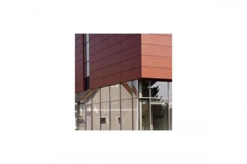 Lucrari de referinta Placaje HPL pentru fatade ventilate - Proiectul Kindergarden, Gabersdorf, Austria TRESPA - Poza 7