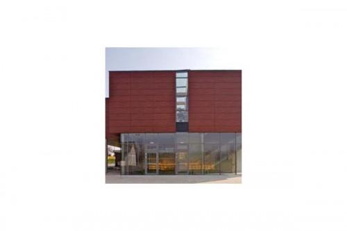 Lucrari de referinta Placaje HPL pentru fatade ventilate - Proiectul Kindergarden, Gabersdorf, Austria TRESPA - Poza 8