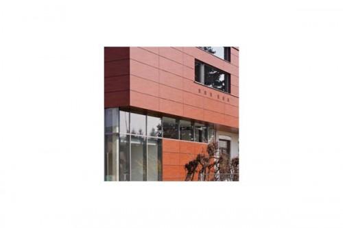 Lucrari de referinta Placaje HPL pentru fatade ventilate - Proiectul Kindergarden, Gabersdorf, Austria TRESPA - Poza 9