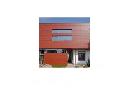 Lucrari de referinta Placaje HPL pentru fatade ventilate - Proiectul Kindergarden, Gabersdorf, Austria TRESPA - Poza 10