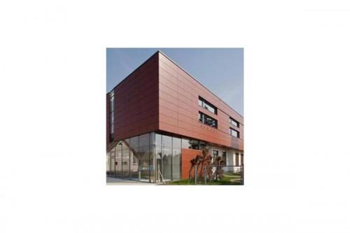 Lucrari de referinta Placaje HPL pentru fatade ventilate - Proiectul Kindergarden, Gabersdorf, Austria TRESPA - Poza 11