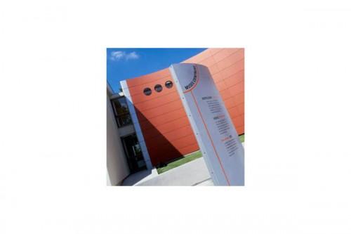 Lucrari de referinta Placaje HPL pentru fatade ventilate - Proiectul Museum Cointreau St.Barthelemy, Franta TRESPA - Poza 3