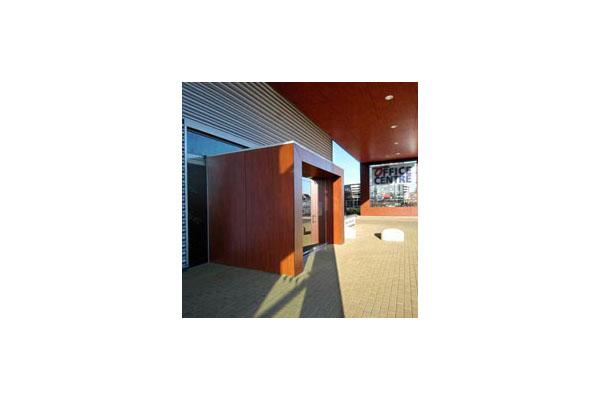 Placaje HPL pentru fatade ventilate - Proiectul Office Aartselaar, Belgia TRESPA - Poza 2