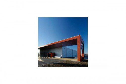 Lucrari de referinta Placaje HPL pentru fatade ventilate - Proiectul Office Aartselaar, Belgia TRESPA - Poza 3