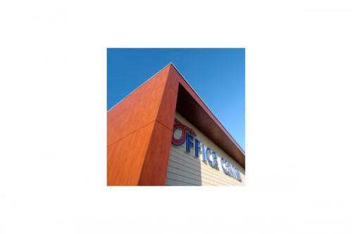 Lucrari de referinta Placaje HPL pentru fatade ventilate - Proiectul Office Aartselaar, Belgia TRESPA - Poza 4