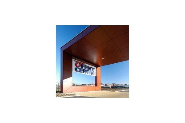 Placaje HPL pentru fatade ventilate - Proiectul Office Aartselaar, Belgia TRESPA - Poza 6