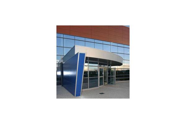 Placaje HPL pentru fatade ventilate - Proiectul Office Beiersdorf, Franta TRESPA - Poza 1