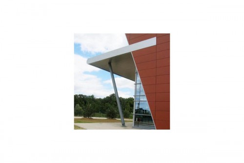 Lucrari de referinta Placaje HPL pentru fatade ventilate - Proiectul Office Beiersdorf, Franta TRESPA - Poza 2