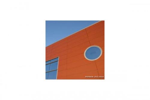 Lucrari de referinta Placaje HPL pentru fatade ventilate - Proiectul Office Beiersdorf, Franta TRESPA - Poza 3