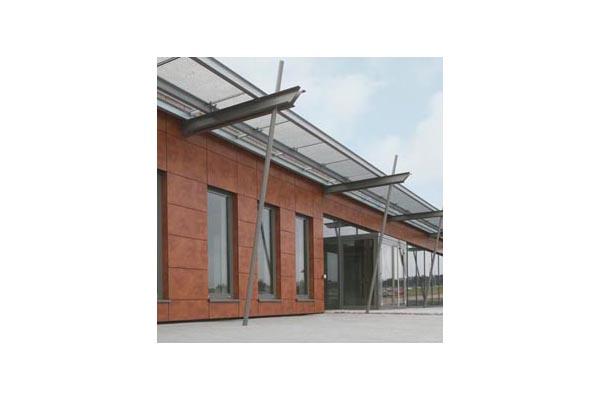 Placaje HPL pentru fatade ventilate - Proiectul Office Building Fa. GUK Wellendingen, Wellendingen, Germania TRESPA - Poza 2