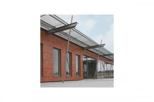 Lucrari de referinta Placaje HPL pentru fatade ventilate - Proiectul Office Building Fa. GUK Wellendingen, Wellendingen, Germania TRESPA - Poza 2
