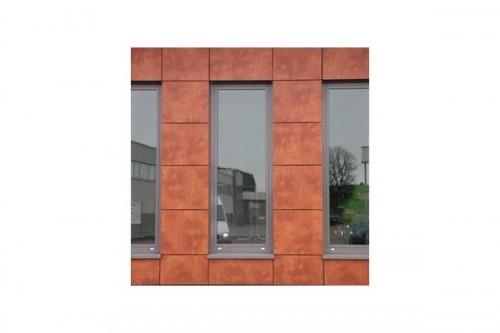 Lucrari de referinta Placaje HPL pentru fatade ventilate - Proiectul Office Building Fa. GUK Wellendingen, Wellendingen, Germania TRESPA - Poza 5
