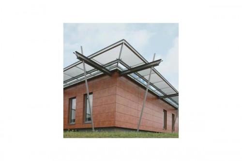 Lucrari de referinta Placaje HPL pentru fatade ventilate - Proiectul Office Building Fa. GUK Wellendingen, Wellendingen, Germania TRESPA - Poza 7