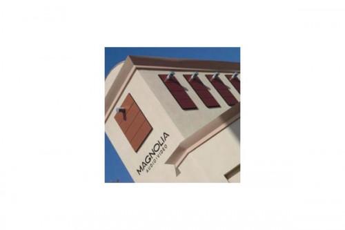Lucrari de referinta Placaje HPL pentru fatade ventilate - Proiectul Retail Magnolia Hi-Fi, SUA TRESPA - Poza 2