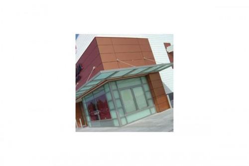 Lucrari de referinta Placaje HPL pentru fatade ventilate - Proiectul Retail Magnolia Hi-Fi, SUA TRESPA - Poza 4