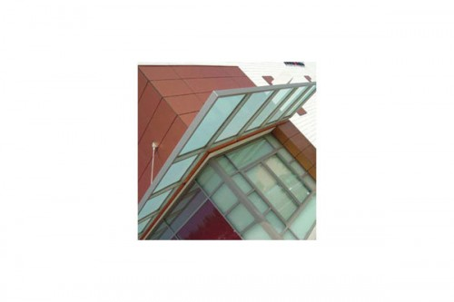 Lucrari de referinta Placaje HPL pentru fatade ventilate - Proiectul Retail Magnolia Hi-Fi, SUA TRESPA - Poza 5