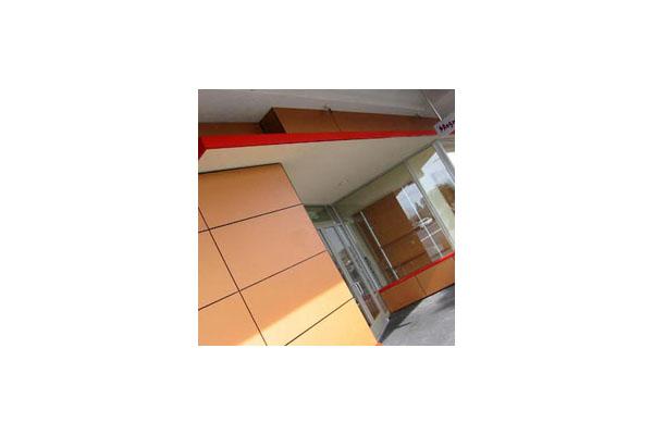 Placaje HPL pentru fatade ventilate - Proiectul Retail Magnolia Hi-Fi, SUA TRESPA - Poza 6