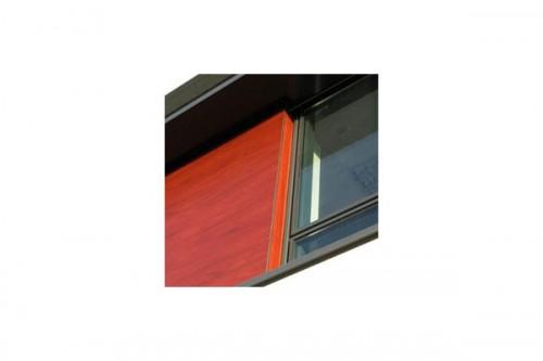 Lucrari de referinta Placaje HPL pentru fatade ventilate - Proiectul School De la Gueriniere Caen, Franta TRESPA - Poza 3