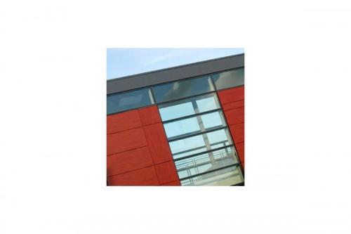 Lucrari de referinta Placaje HPL pentru fatade ventilate - Proiectul School De la Gueriniere Caen, Franta TRESPA - Poza 6