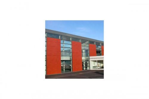 Lucrari de referinta Placaje HPL pentru fatade ventilate - Proiectul School De la Gueriniere Caen, Franta TRESPA - Poza 7