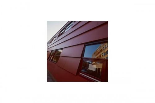 Lucrari de referinta Placaje HPL pentru fatade ventilate - Proiectul School Den Haag, Olanda TRESPA - Poza 3