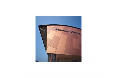 Lucrari de referinta Placaje HPL pentru fatade ventilate - Proiectul School Lichtenvoorde, Olanda TRESPA - Poza 1