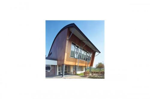 Lucrari de referinta Placaje HPL pentru fatade ventilate - Proiectul School Lichtenvoorde, Olanda TRESPA - Poza 2