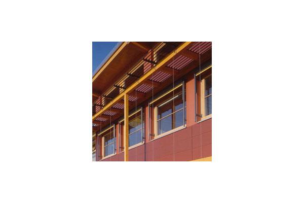 Placaje HPL pentru fatade ventilate - Proiectul School Oberstufenzentrum Dahmen-Spree, Germania TRESPA - Poza 2