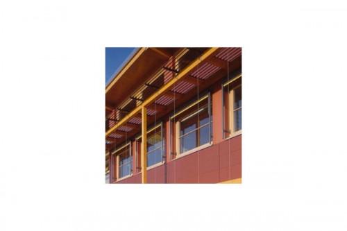 Lucrari de referinta Placaje HPL pentru fatade ventilate - Proiectul School Oberstufenzentrum Dahmen-Spree, Germania TRESPA - Poza 2