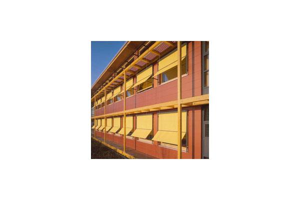 Lucrari, proiecte Placaje HPL pentru fatade ventilate - Proiectul School Oberstufenzentrum