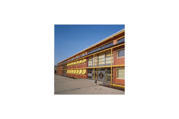 Placaje HPL pentru fatade ventilate - Proiectul School Oberstufenzentrum Dahmen-Spree, Germania TRESPA - Poza 4