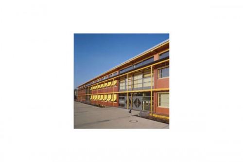 Lucrari de referinta Placaje HPL pentru fatade ventilate - Proiectul School Oberstufenzentrum Dahmen-Spree, Germania TRESPA - Poza 4