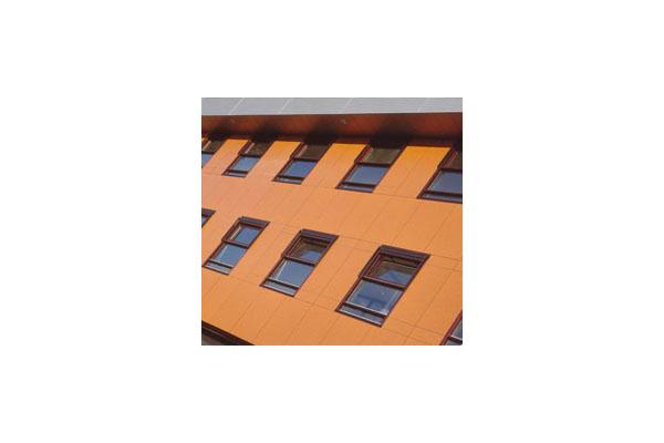 Lucrari, proiecte Placaje HPL pentru fatade ventilate - Proiectul School PABO Eindhoven, Olanda