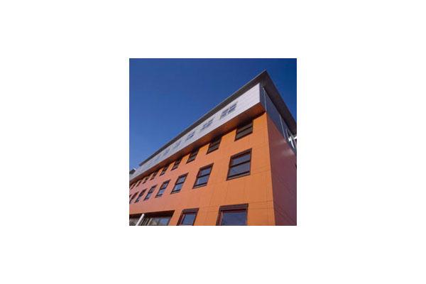 Placaje HPL pentru fatade ventilate - Proiectul School PABO Eindhoven, Olanda TRESPA - Poza 7