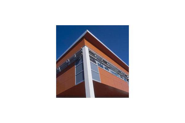 Placaje HPL pentru fatade ventilate - Proiectul School Paul Eluart Tinquex, Franta TRESPA - Poza 1